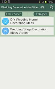 Wedding decoration idea video diy marriage decor apps on google play screenshot image junglespirit Gallery