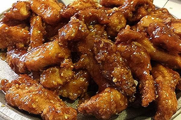 Amy's Sweet & Spicy Roasted Garlic Sesame Chicken