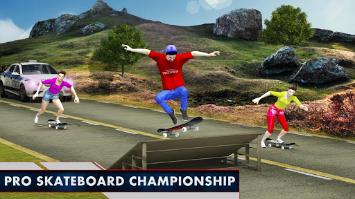 Street Skateboard Girl:Pro Skateboarding Challenge 1.0 screenshots 2