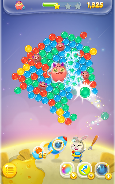 Bubble spinner : space bunny v1.0.6 [Mod]