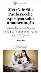 Revista Crescer- screenshot thumbnail