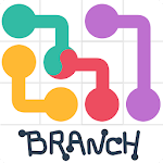 Draw Line: Branch Icon