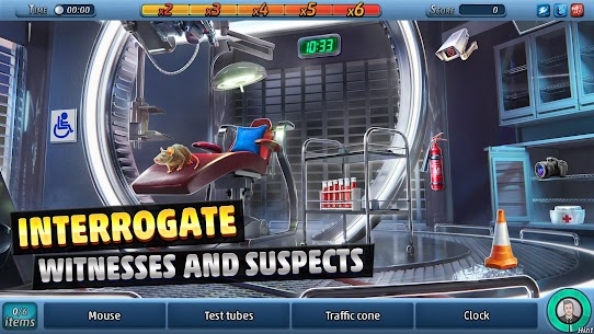 Criminal Case: The Conspiracy MOD (Unlimited Energy/Examine) 4