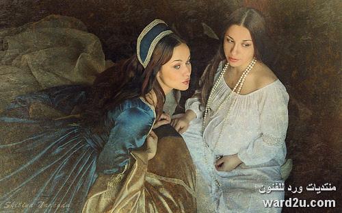 تصوير فوتوغرافى الفنانة الروسية Shibina Nadezhda