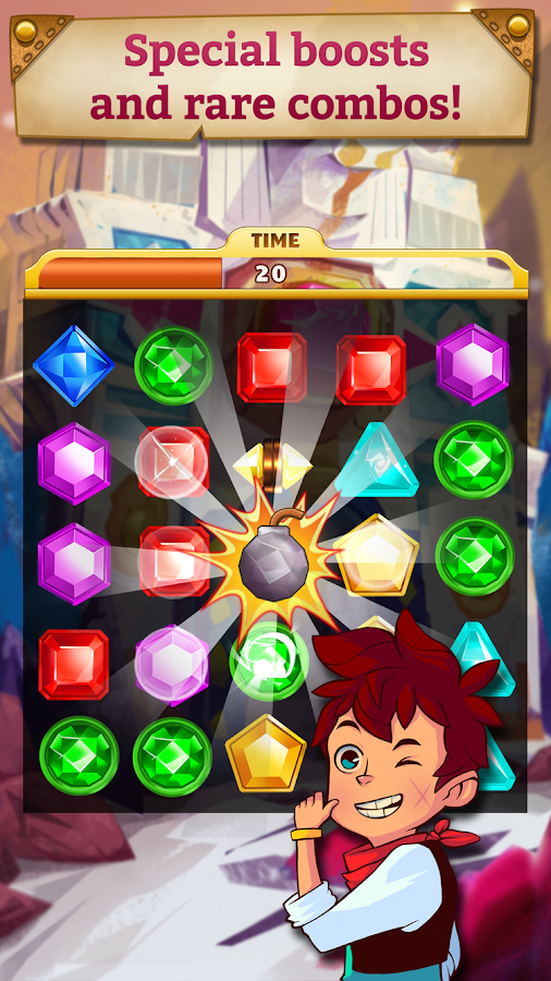Ben noto Jewel Mania: Sunken Treasures - Android Apps on Google Play VU94