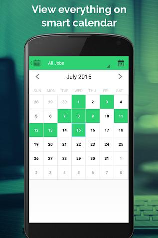 Work Hours Tracking & Billing Screenshot