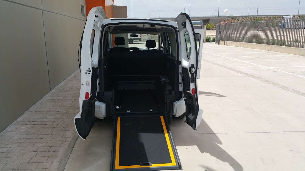 Alquiler de furgonetas para minusvalidos en Zaragoza, Huesca, Teruel y Salou