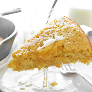 Skillet Honey Cornbread.