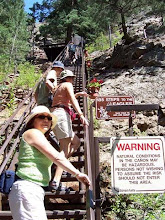 Photo: schody podél vodopádů