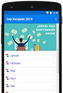 Gaji Kerajaan 2019 for PC-Windows 7,8,10 and Mac apk screenshot 1