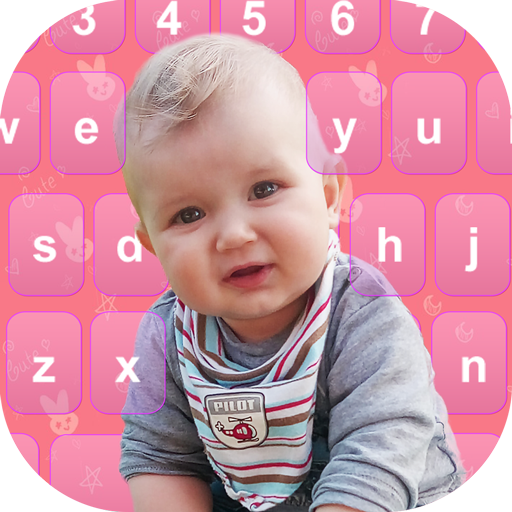 Cute Baby Photography Keyboard