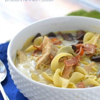 Crock Pot Chicken Bacon Ranch Soup