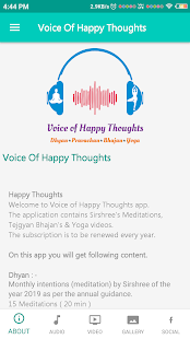 App Voice of Happy Thoughts APK for Windows Phone