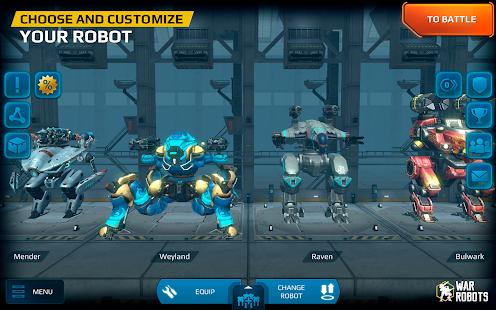 War Robots v4.8.0 APK Data Obb Full Torrent