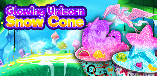 Glowing Rainbow Snow Cone Maker - Unicorn Desserts for PC