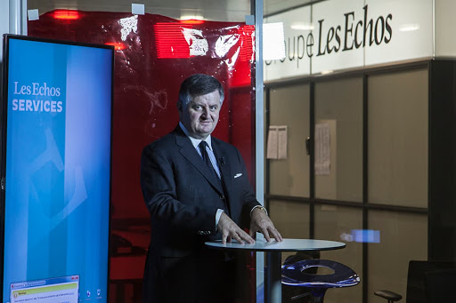 Club Les Echos Débats avec Augustin de Romanet, Président-Directeur Général du Groupe Aéroports de Paris