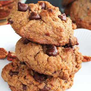 Pecan Butter Chocolate Chip Cookies