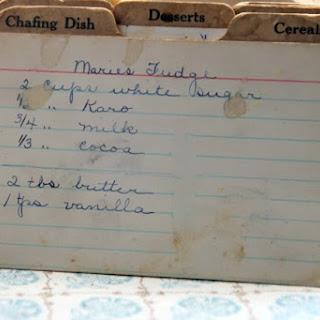 Marie's Fudge