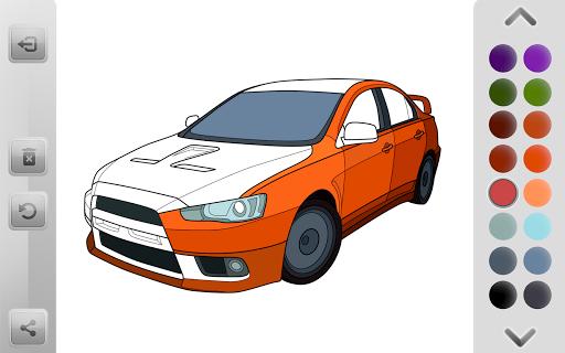 World Cars Coloring Book android2mod screenshots 8