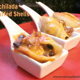 Enchilada Stuffed Shell Appetizer