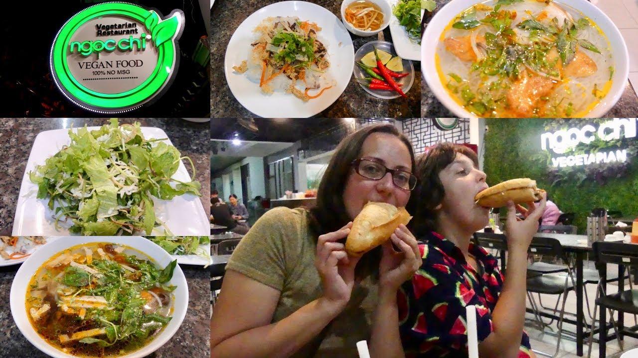 Quán chay Đà Nẵng - Ngọc Chi được nhiều khách quốc tế biết đến