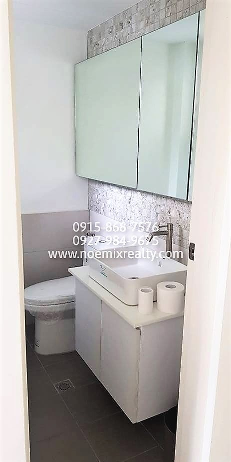 House and lot in West Fairview, Quezon City powder room