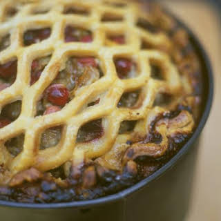Beef and Berry Pastry Pie.