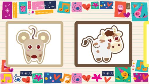 幼兒拼拼樂-十二生肖可愛動物