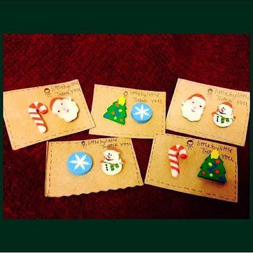 聖誕快到了嗎,冬天呢?  #聖誕老人 $40 對  wstapp大甘:9526 4648 Wechat:Megkum 。  本土#手作 的珍貴 。  littlebylittle .💐