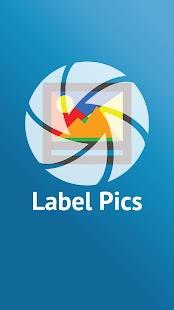 Label Pics - náhled