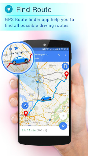 GPS Tracker Route Finder