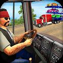 Heavy Vehicle Transporter Sim: Free Cargo Games icon