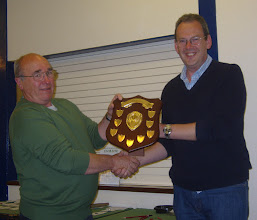 Photo: Clubman of the Year - Tony Brown - presented by Nick Keeler