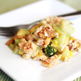 Broccoli Corn Casserole.