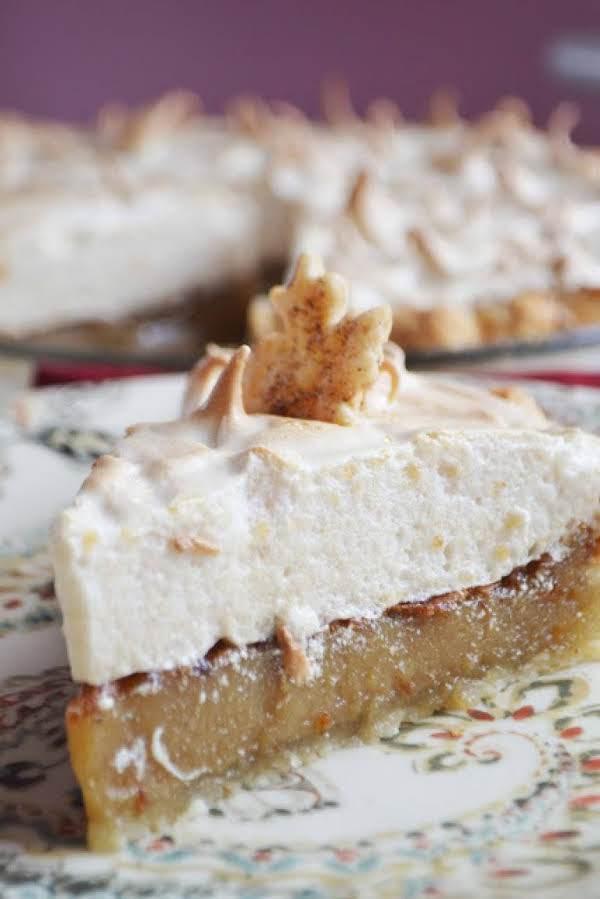 Vermont Maple Cream Meringue Pie