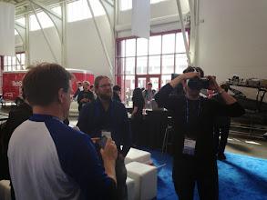 Photo: VR/AR at #REAL2015 Main Hall