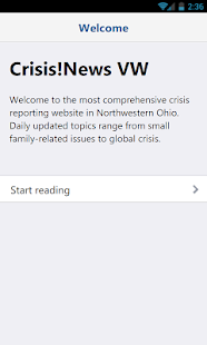 Van Wert Crisis News- screenshot thumbnail