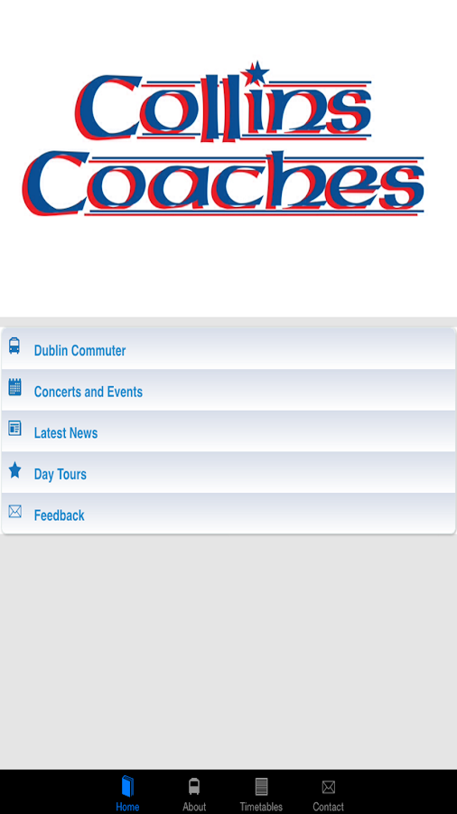 Collins Coaches- screenshot