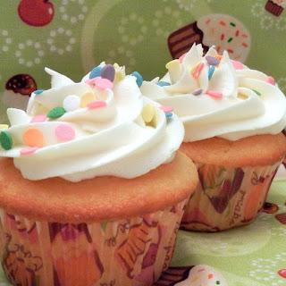Cake Batter Cupcakes!