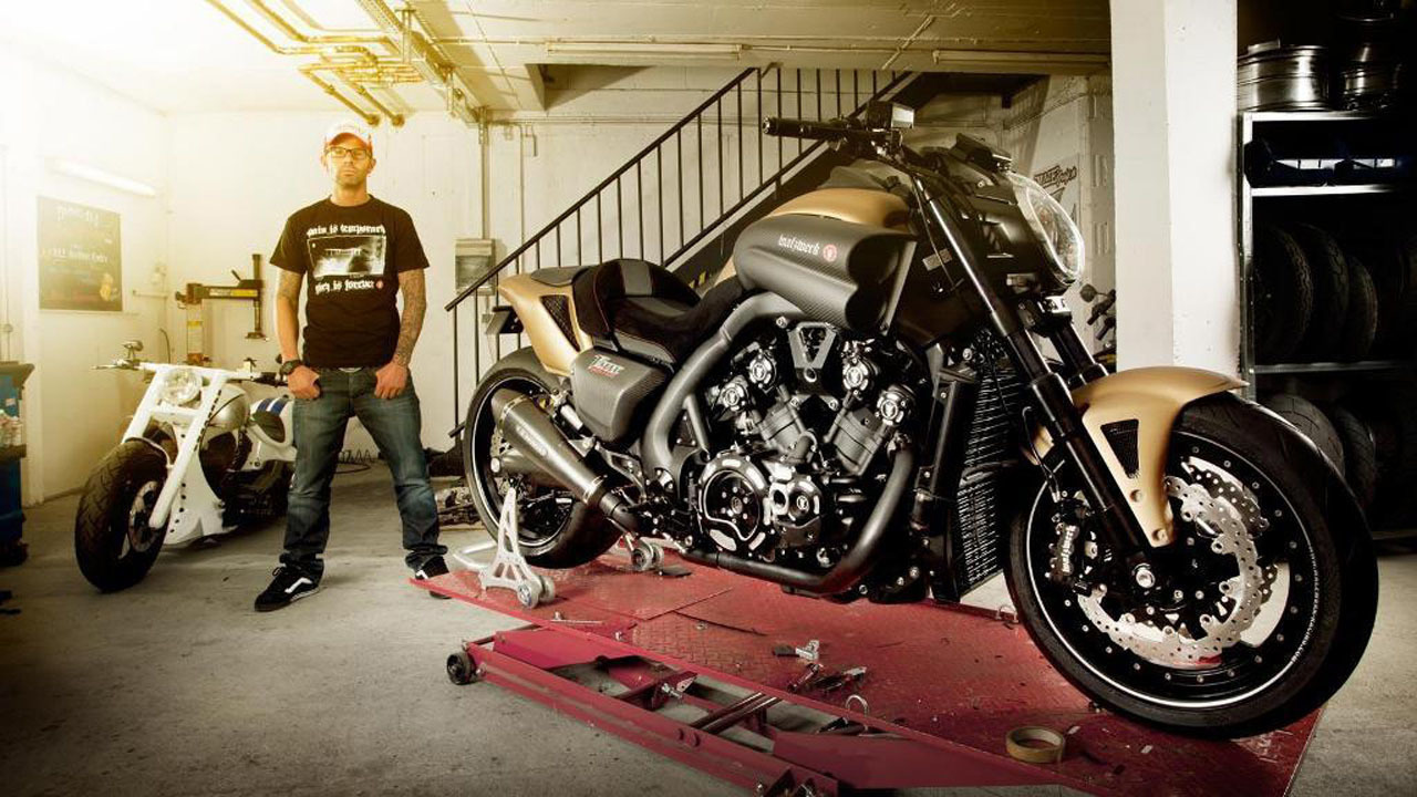 Yamaha V Max Hyper Modified by Marcus Walz