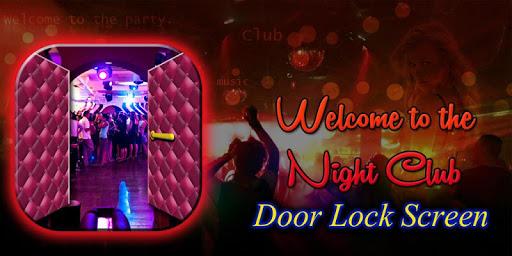 Door Lock Screen - Disco Club