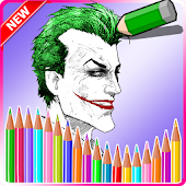 Joker Coloring Book
