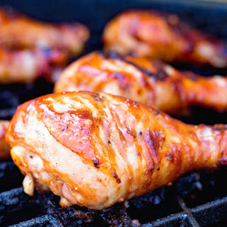 Grilled BBQ Chicken Drumsticks Recipe