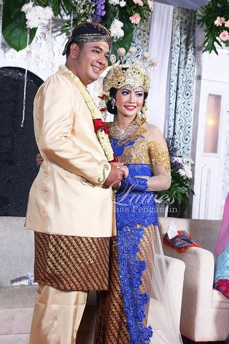Foto pengantin Siger Sunda