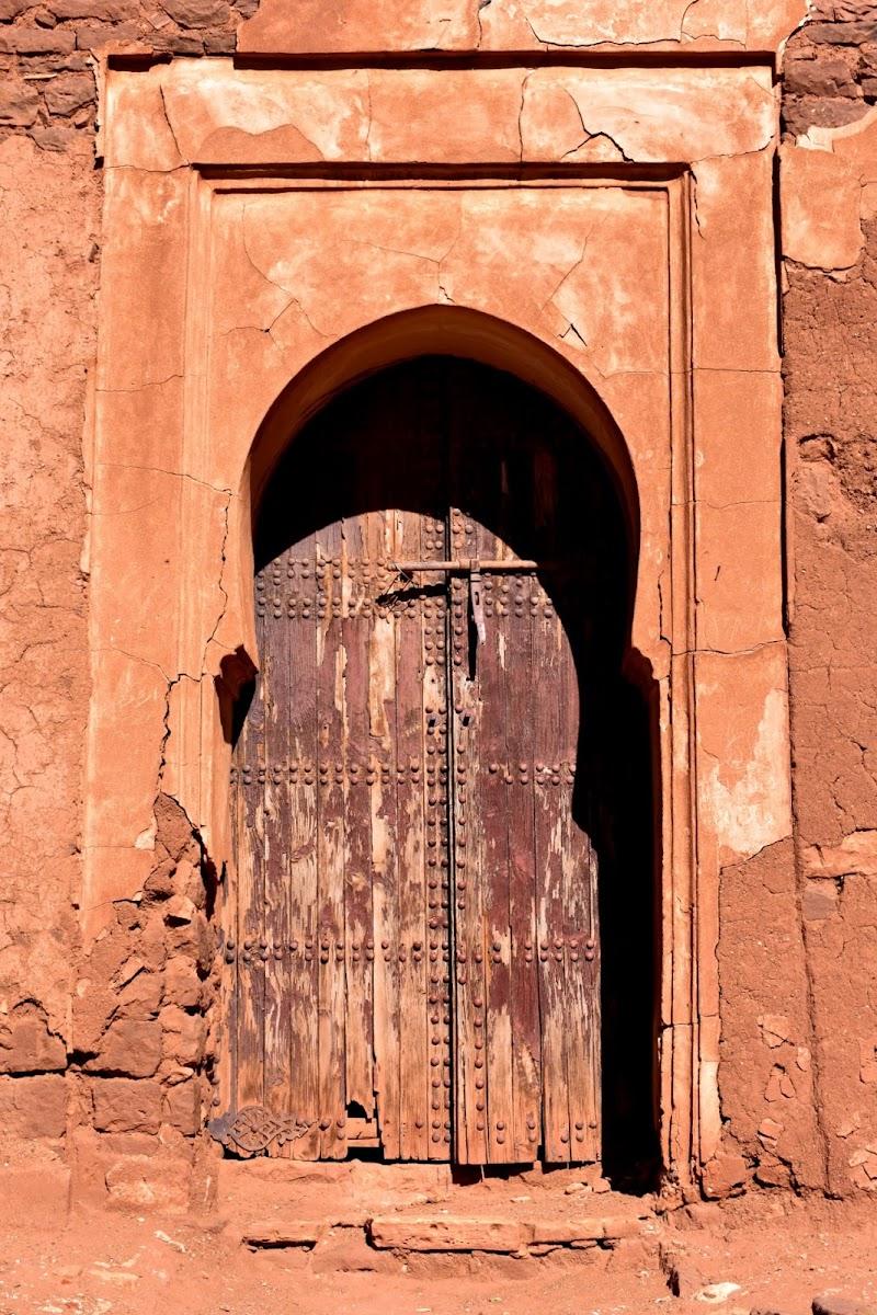 La porta della kasbah di Kamone