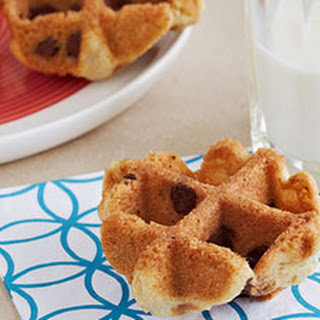 Waffled Chocolate Chip Cookies