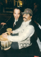 Photo: The guy Mr. & Mrs. C stole 10 years later to play @ their wedding party in HK - hint: not the wino-dude!