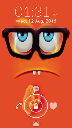 Funny Face Lock Screen