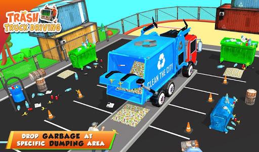 Urban Garbage Truck Driving - Waste Transporter 1 screenshots 20