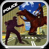 Police Horse Chase Training